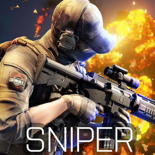 Tlcharger Code Triche Blazing Sniper – offline shooting game APK MOD