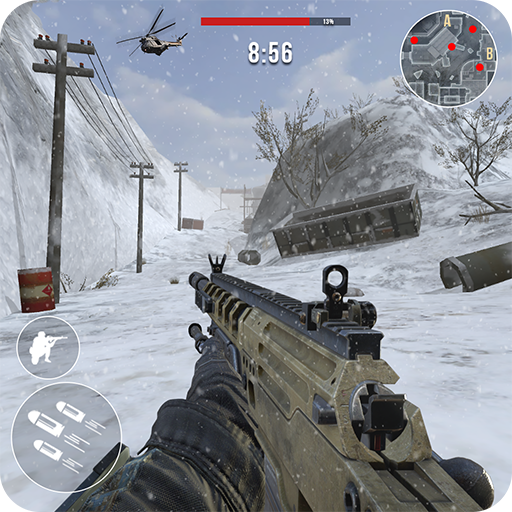 Tlcharger Gratuit Code Triche Rules of Modern World War Winter FPS Shooting Game APK MOD