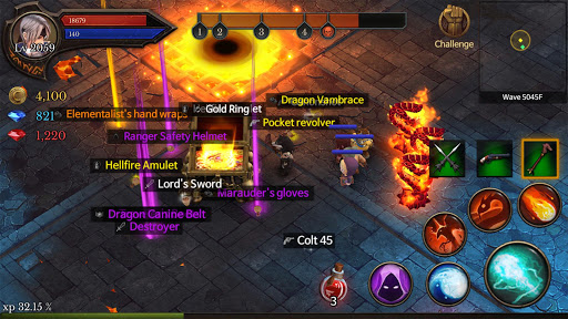 Dungeon Chronicle astuce Eicn.CH 1