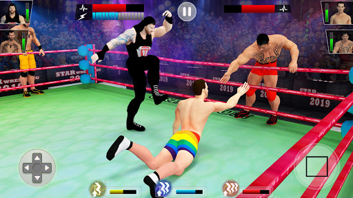Tag team wrestling 2019 Cage death fighting Stars astuce Eicn.CH 1