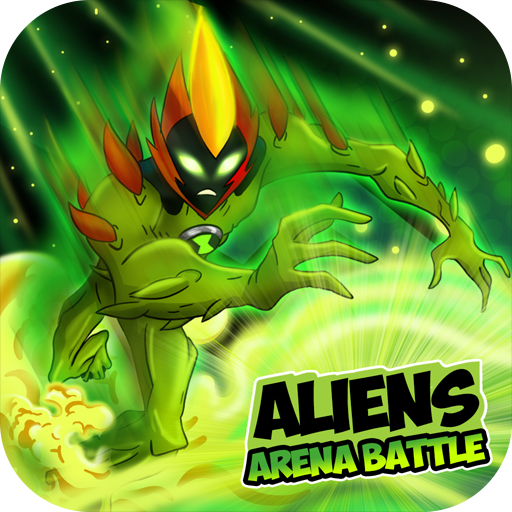 Tlcharger Code Triche Aliens Arena Mega Alien War Transform APK MOD