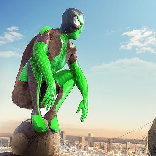 Tlcharger Gratuit Code Triche Rope Frog Ninja Hero – Strange Gangster Vegas APK MOD