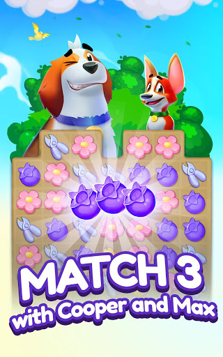 Backyard Bash New Match 3 Pet Game astuce Eicn.CH 1