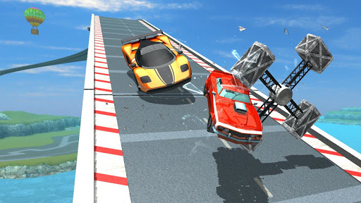 Mega Ramp Car Racing Impossible Tracks 3D astuce Eicn.CH 2