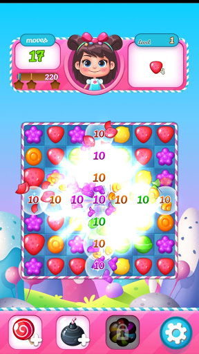 New Sweet Candy Pop Puzzle World astuce Eicn.CH 2