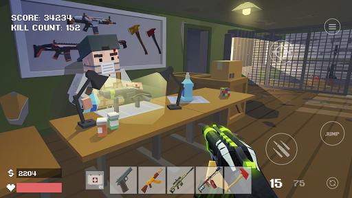 Pixel Combat Zombies Strike astuce Eicn.CH 1