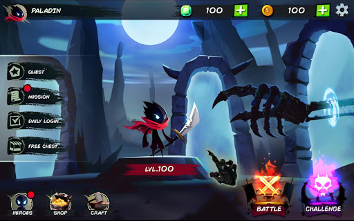 Shadow Stickman Fight for Justice astuce Eicn.CH 1