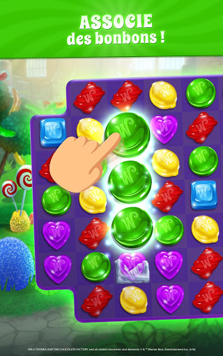 Wonka Monde des Bonbons Match 3 astuce Eicn.CH 2