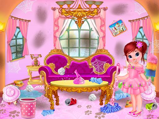 nettoyage de maison de princesse pour les filles astuce Eicn.CH 2