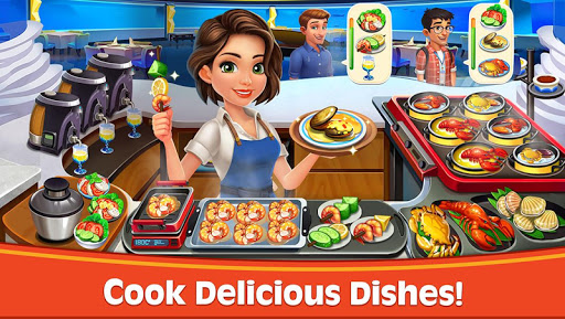 Cooking Rush – Chefs Fever Games astuce Eicn.CH 1