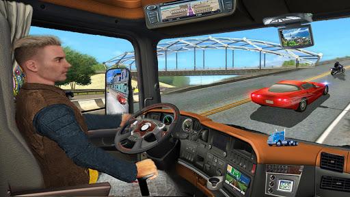 Dans un camion Au volant Jeux Autoroute Routes astuce Eicn.CH 1