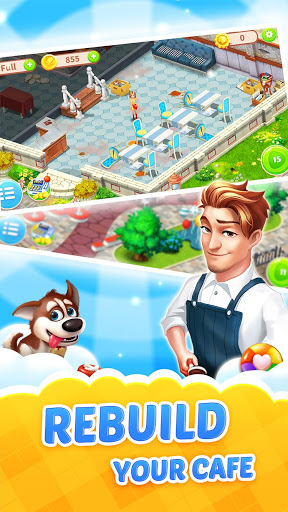 Dream Cafe Cafescapes – Match 3 astuce Eicn.CH 2