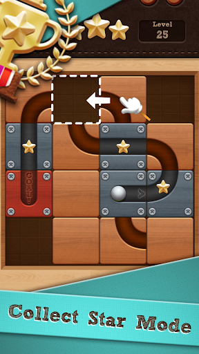 Roll the Ball slide puzzle astuce Eicn.CH 1