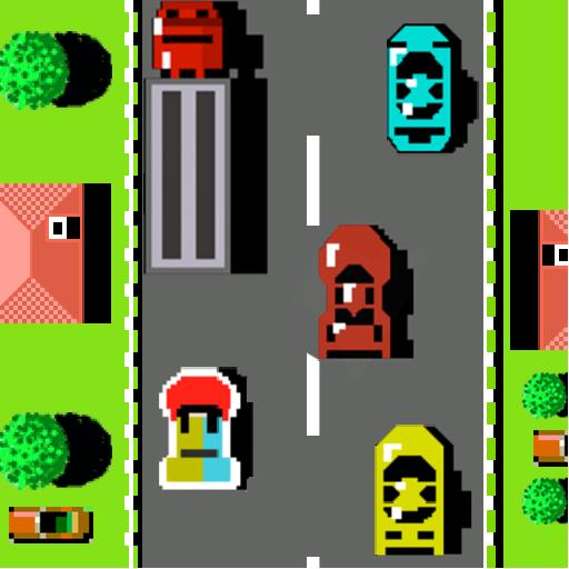 Tlcharger Gratuit Code Triche Road Racing – Car Fighter – Classic NES Car Racing APK MOD