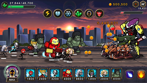 HERO WARS Super Stickman Defense astuce Eicn.CH 1