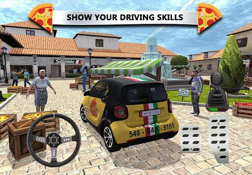 Pizza Delivery Simulateur de Conduite astuce Eicn.CH 1