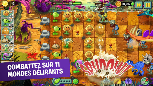 Plants vs Zombies 2 Free astuce Eicn.CH 1