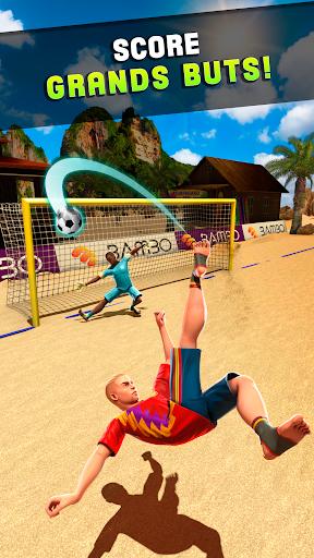 Tir Goal – Beach Foot astuce Eicn.CH 2