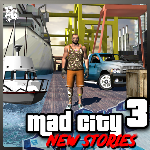 Tlcharger Code Triche Mad City Crime 3 New stories APK MOD